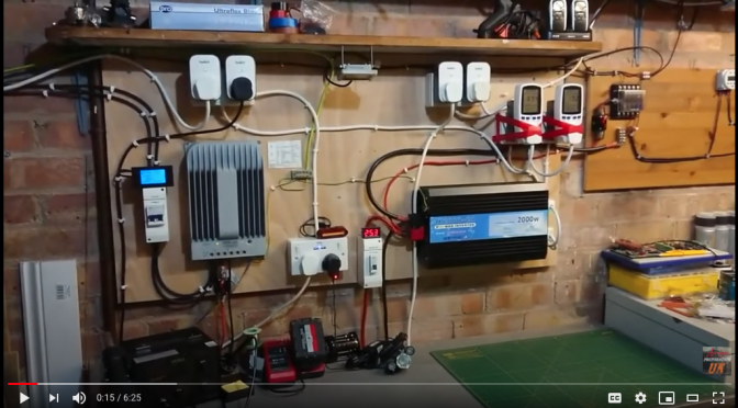 DIY 1000 Watt 24v Off Grid House Power Solar system UK